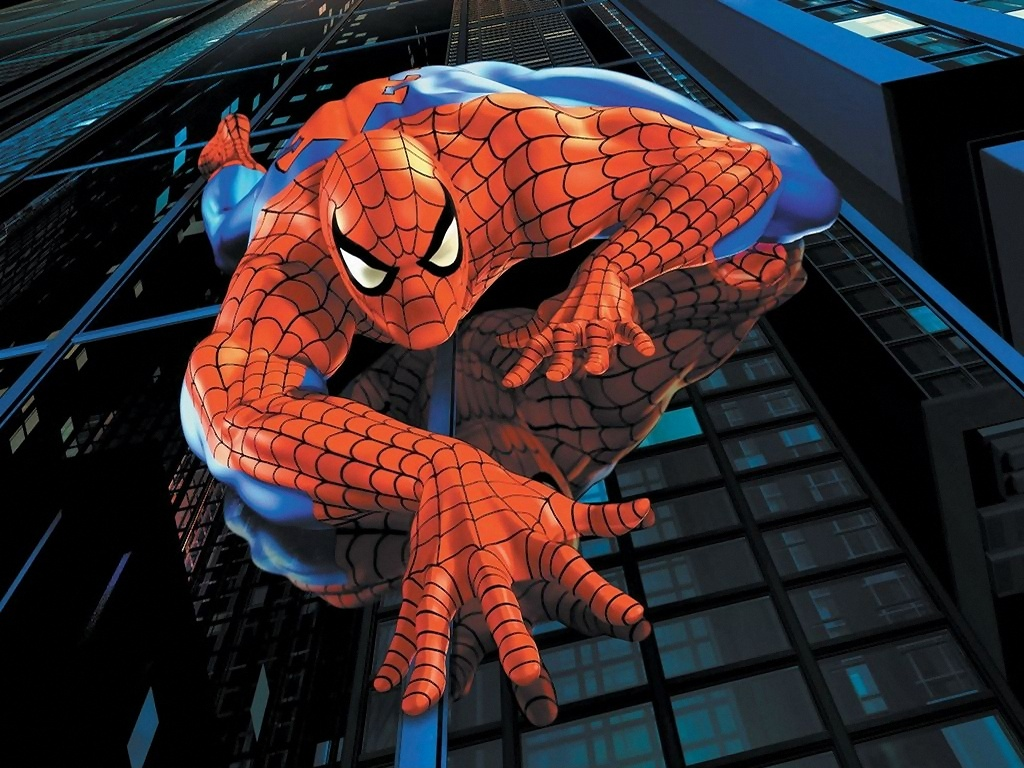 Spiderman cartoon